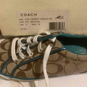 Coach Barrett lace up sneakers